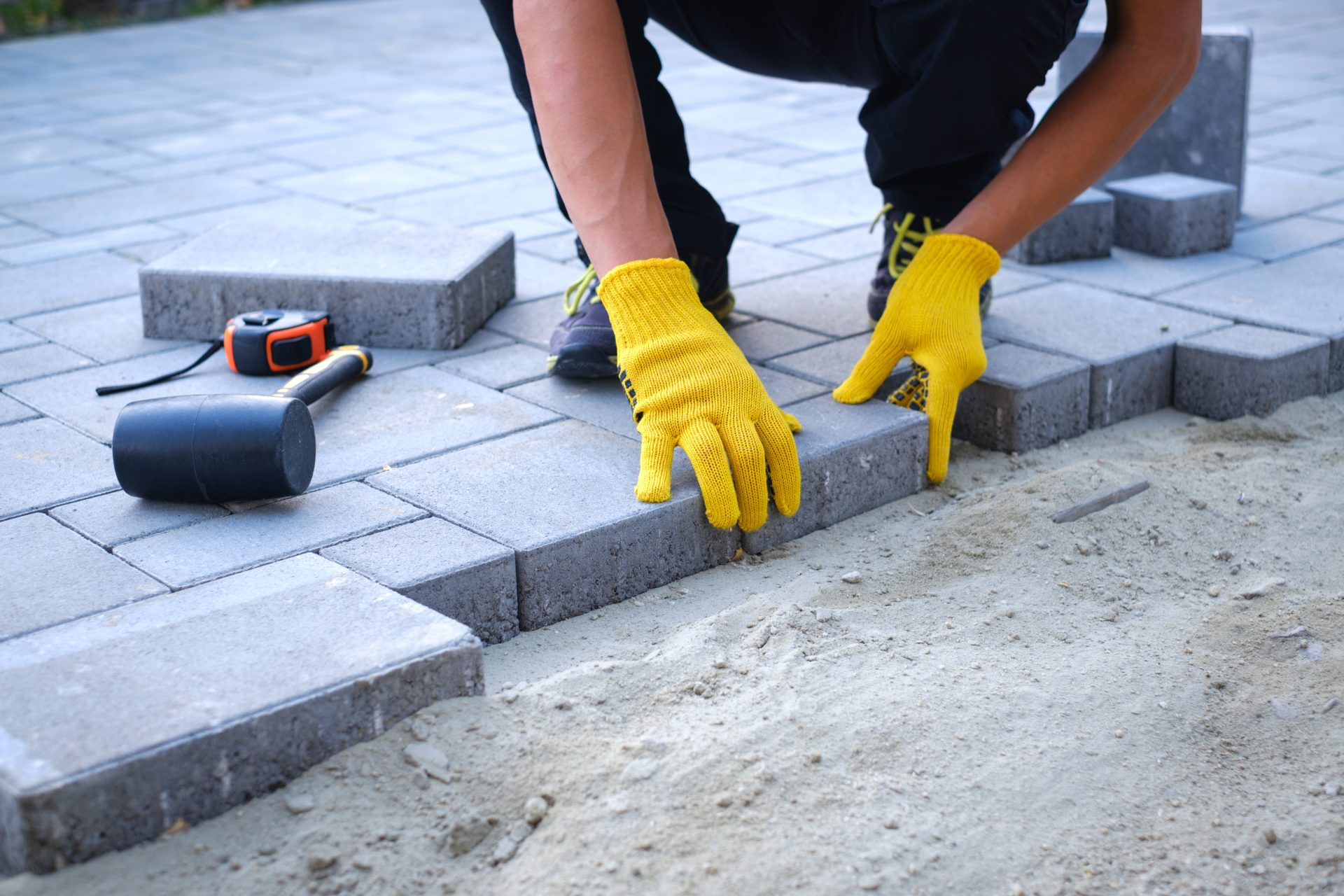 paver patio contractor in Ellicott City -- J&A Services