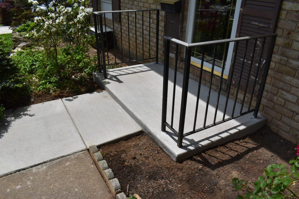 concrete contractor in Fallston -- J&A Services