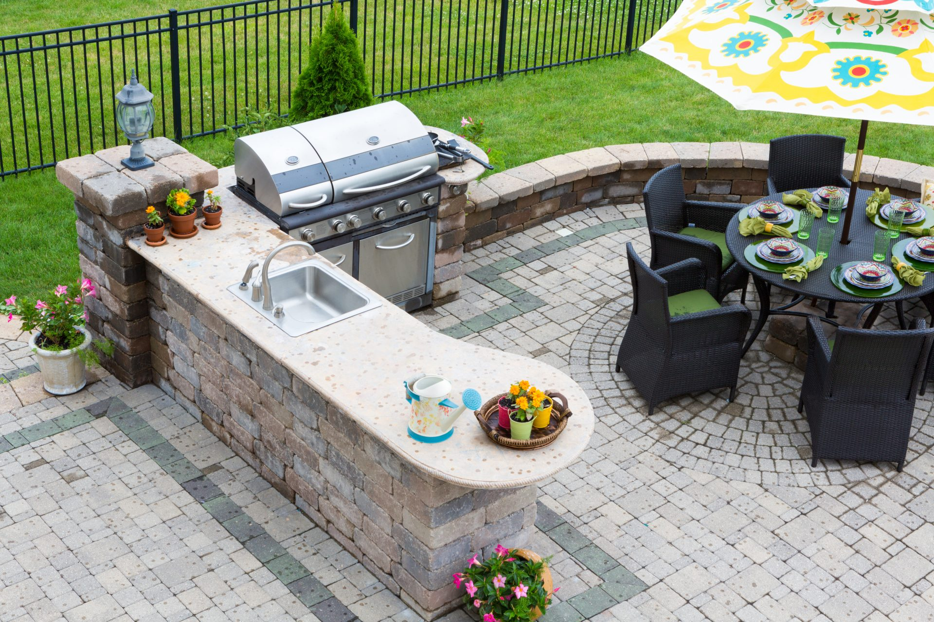 paver patio contractor in Edgewood -- J&A Services